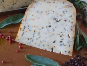 Gouda with spices, cow milk cheese available to sell