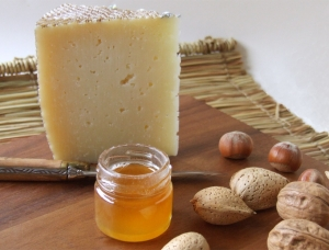 Manchego and Honey, ewe milk cheese available to sell