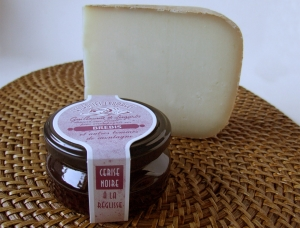 Ossau Iraty & Black Cherries and Licorice Jam, ewe milk cheese available to sell
