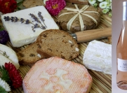 Deal of the day : Picnic cheeseboard - Cheeses & Rosé de Provence