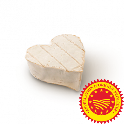 Coeur de Neufchâtel, cow milk cheese available to sell