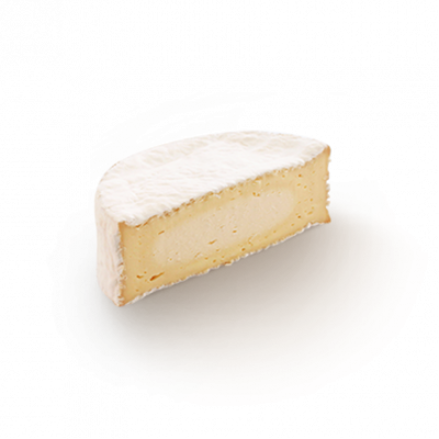 Coulommiers 1/2pc, cow milk cheese available to sell