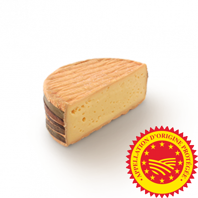 Livarot PDO 1/2 pce, cow milk cheese available to sell