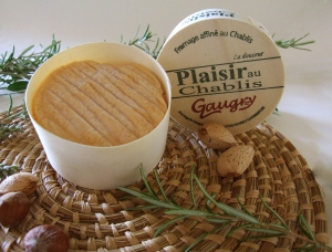 Plaisir au Chablis, cow milk cheese available to sell