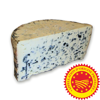 Bleu d'Auvergne PDO 1/2 wheel, cow milk cheese available to sell