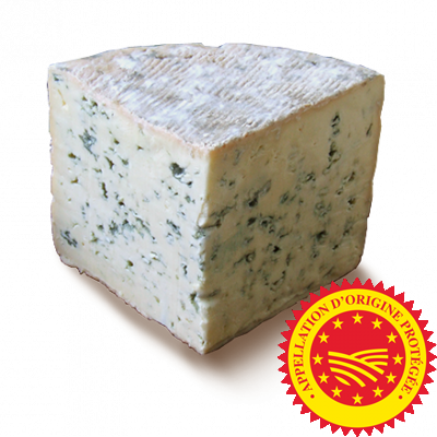 Bleu d'Auvergne PDO 1/4 wheel, cow milk cheese available to sell