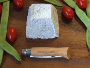 Valencay, goat milk cheese available to sell