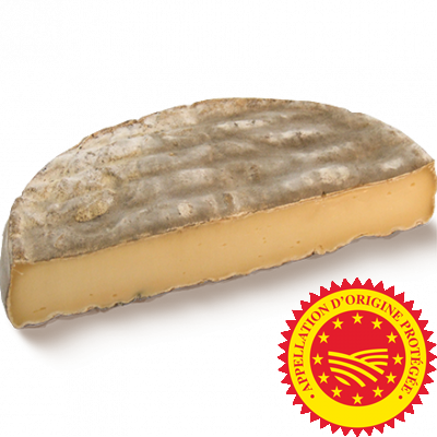 Saint Nectaire PDO 1/2 wheel, cow milk cheese available to sell