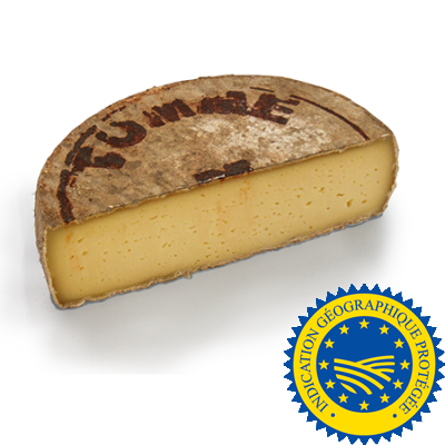 Tomme de Savoie 1/2 wheel - GIP -, cow milk cheese available to sell