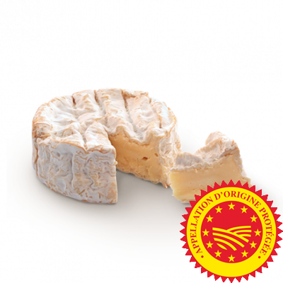 Camembert de Normandie, fromage au lait de vache disponible à la vente