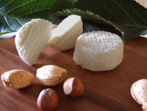 Crottin two maturings, goat milk cheese available to sell