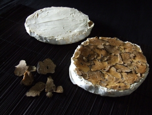 Coulommiers with Truffles , cow milk cheese available to sell