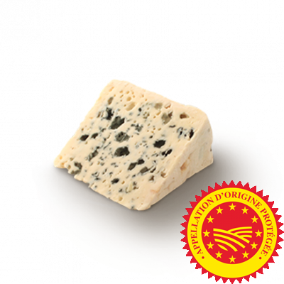 Roquefort PDO Baragnaudes , ewe milk cheese available to sell
