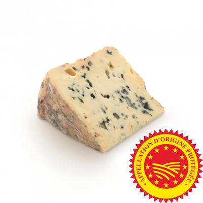 Bleu d'Auvergne PDO, cow milk cheese available to sell