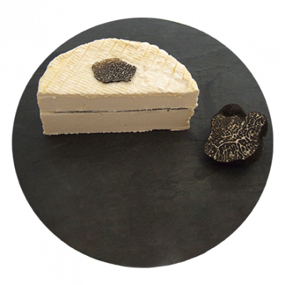Brillat Savarin GPI with black truffles , cow milk cheese available to sell