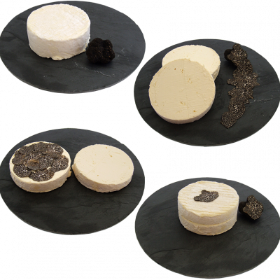 Brillat with truffles, cow milk cheese available to sell