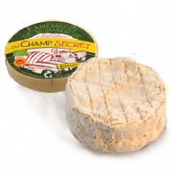 Organic camembert, cow milk cheese
