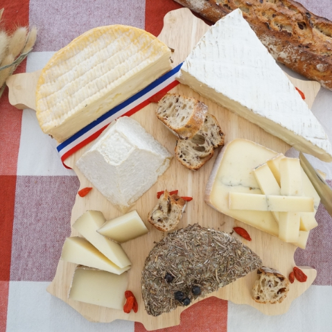 Selected cheeseboards