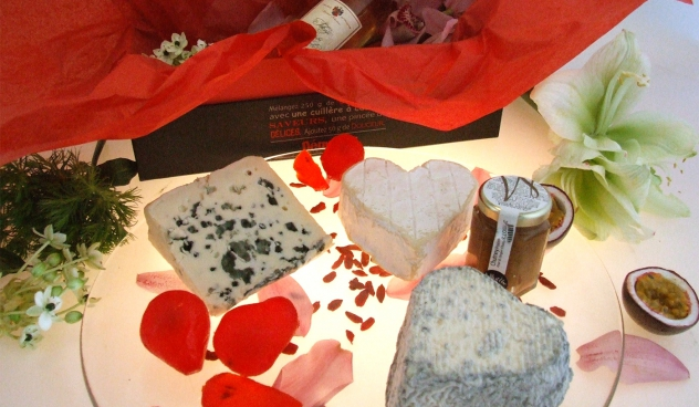 Plateau sp cial saint valentin for Fromage en special