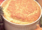 Beaufort cheese soufflé